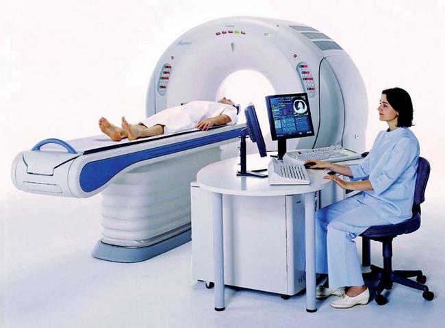 Компьютерная томография - один из способов диагностики хореи Гентингтона