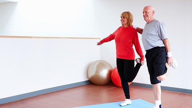 Лечение остеоартрита включает в себя ЛФК