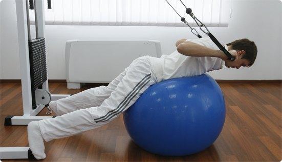 Лечение спондилоартрита при помощи физиотерапии