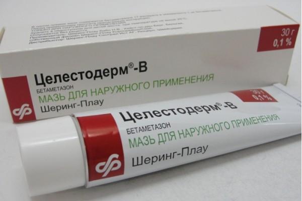 Лечение сухой экземы на стопах