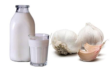 Молоко с чесноком - отличное средство от глистов