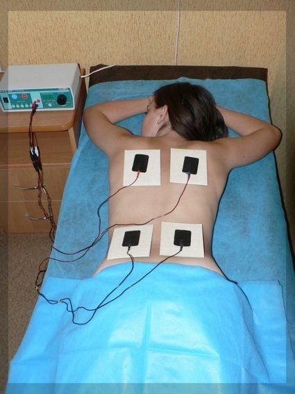 Процедура физиотерапии