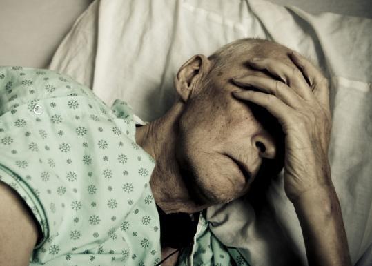Симптомы отёка легких у лежачих больных