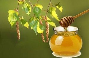 Мёд и почки берёзы от симптомов бронхопневмонии
