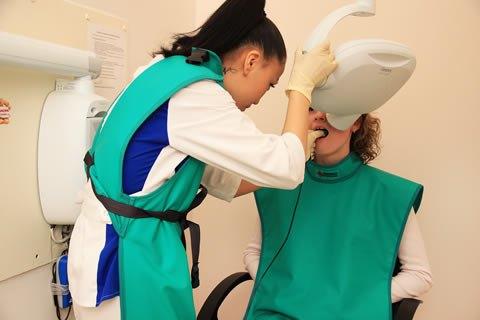 Как сделать рентген зуба беременным
