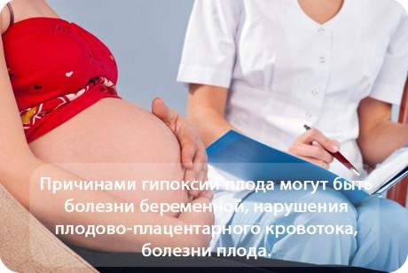 Гипоксия плода - причины, признаки, симптомы, лечение