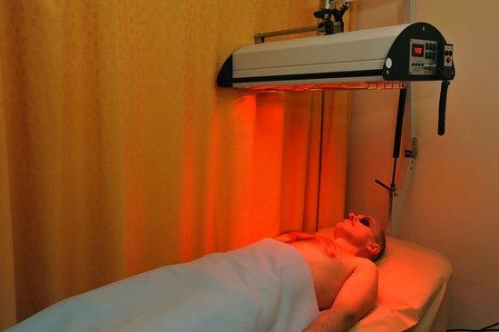 Проведение инфракрасной терапии