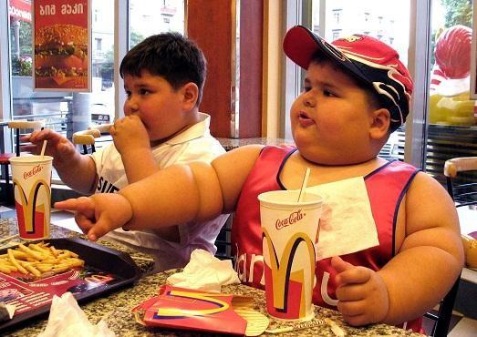 Ребёнок с избыточным весом