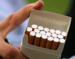 Пачка сигарет может привести к мутации