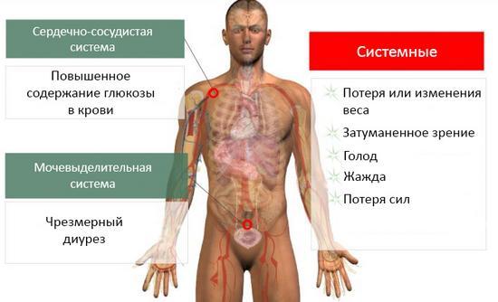 Диабет 1 степень у мужчины
